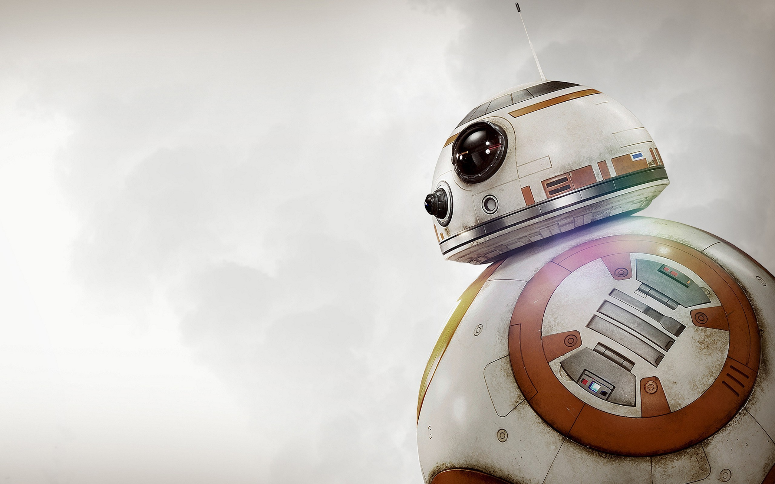 BB 8 Star Wars The Force Awakens Robot Science Fiction Star 2560x1600