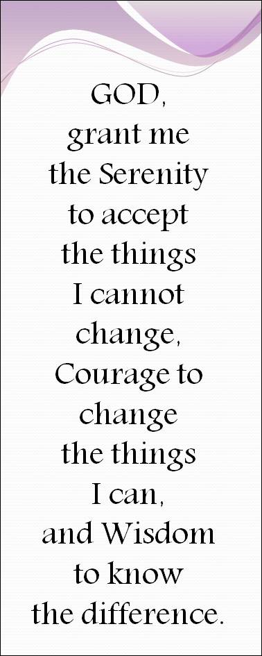image regarding Free Printable Serenity Prayer identified as 47+] Free of charge Serenity Prayer Wallpaper upon WallpaperSafari
