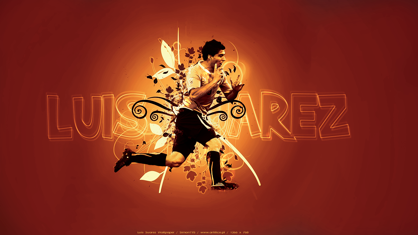 Luis Suarez Wallpaper 2011 6 1366x768