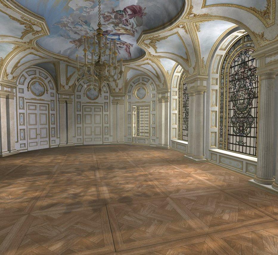 Baroque ballroom daytime by indigodeep 933x857