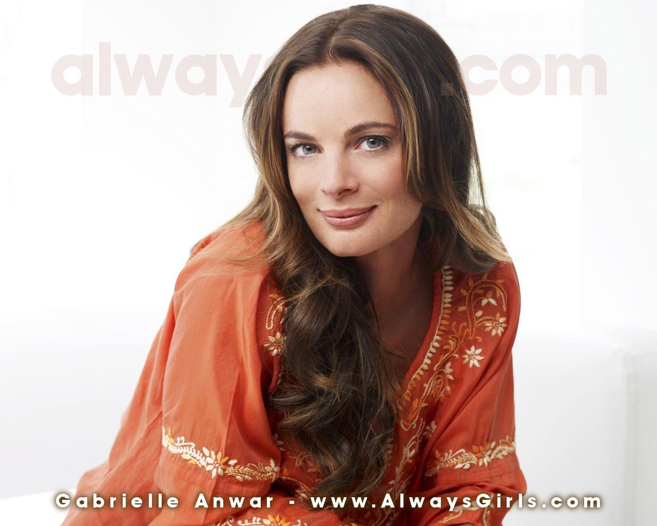 Gabrielle Anwar Wallpaper   Right click your mouse and choose Set As 1280x1024