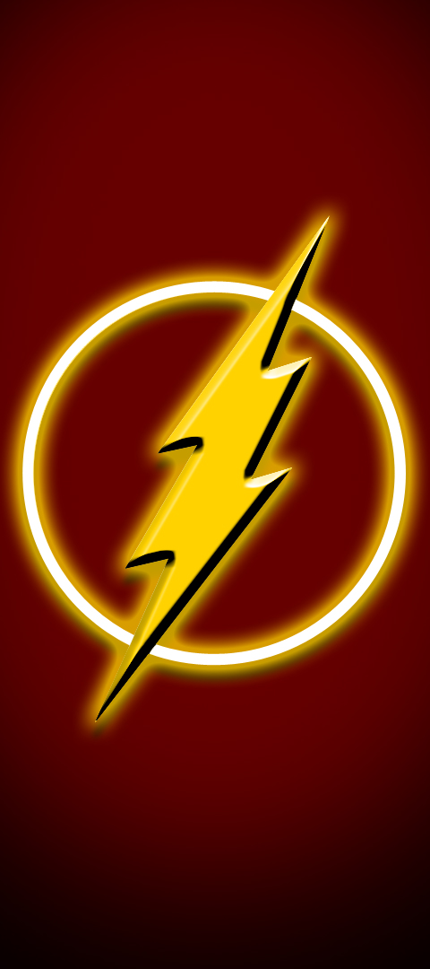 The Flash Superhero wallpaper part 7 by SplashOfSummer 480x1080