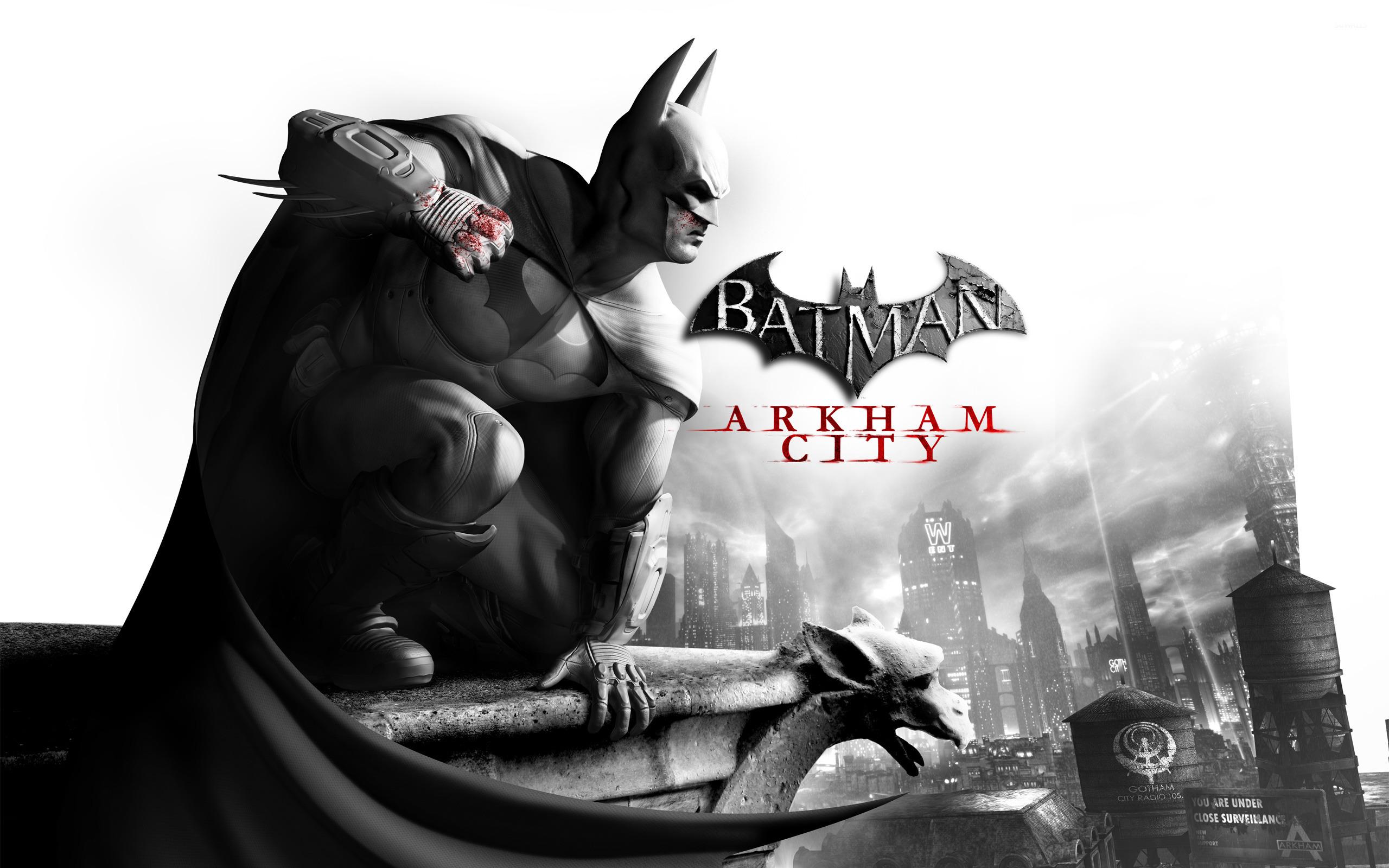 Batman Arkham City wallpaper   Game wallpapers   11422 2560x1600
