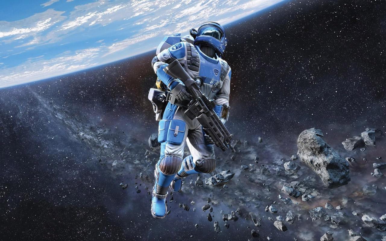 Sci Fi Astronaut computer desktop wallpapers pictures images 1280x800