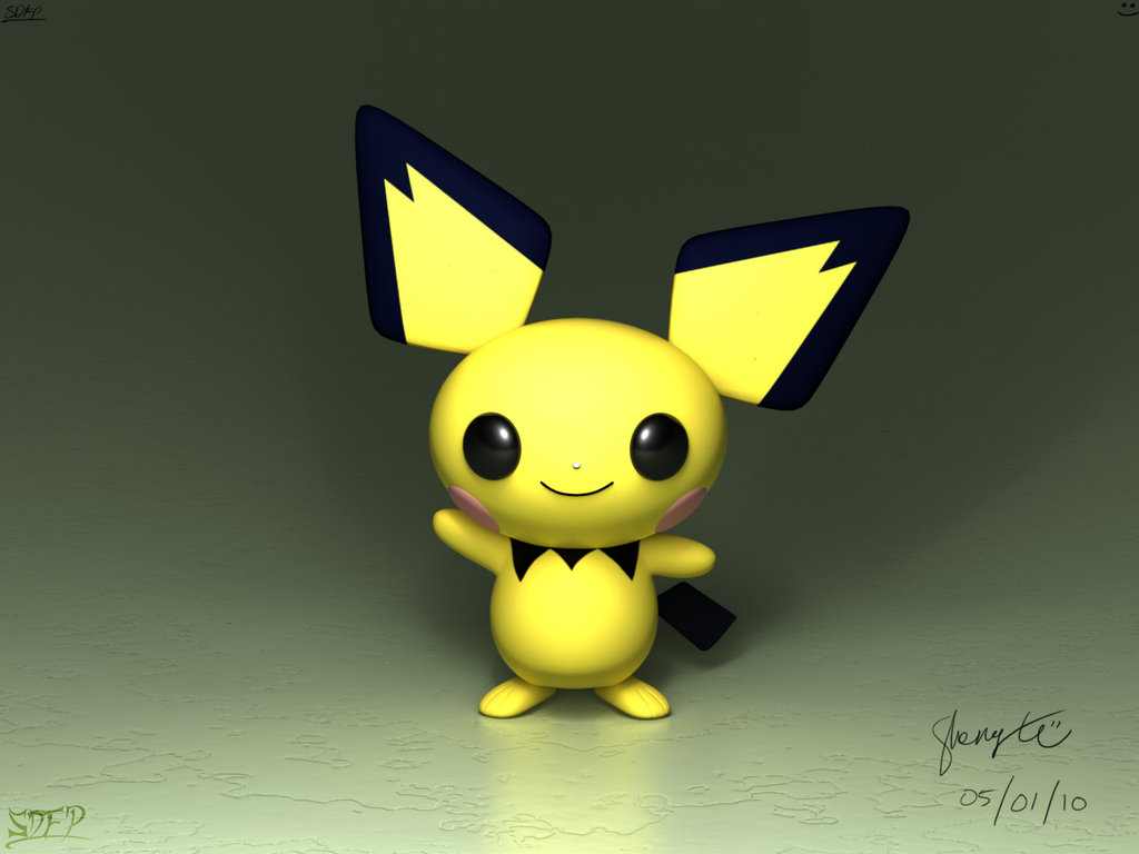 Pichu Wallpaper Related Keywords amp Suggestions   Pichu 1024x768
