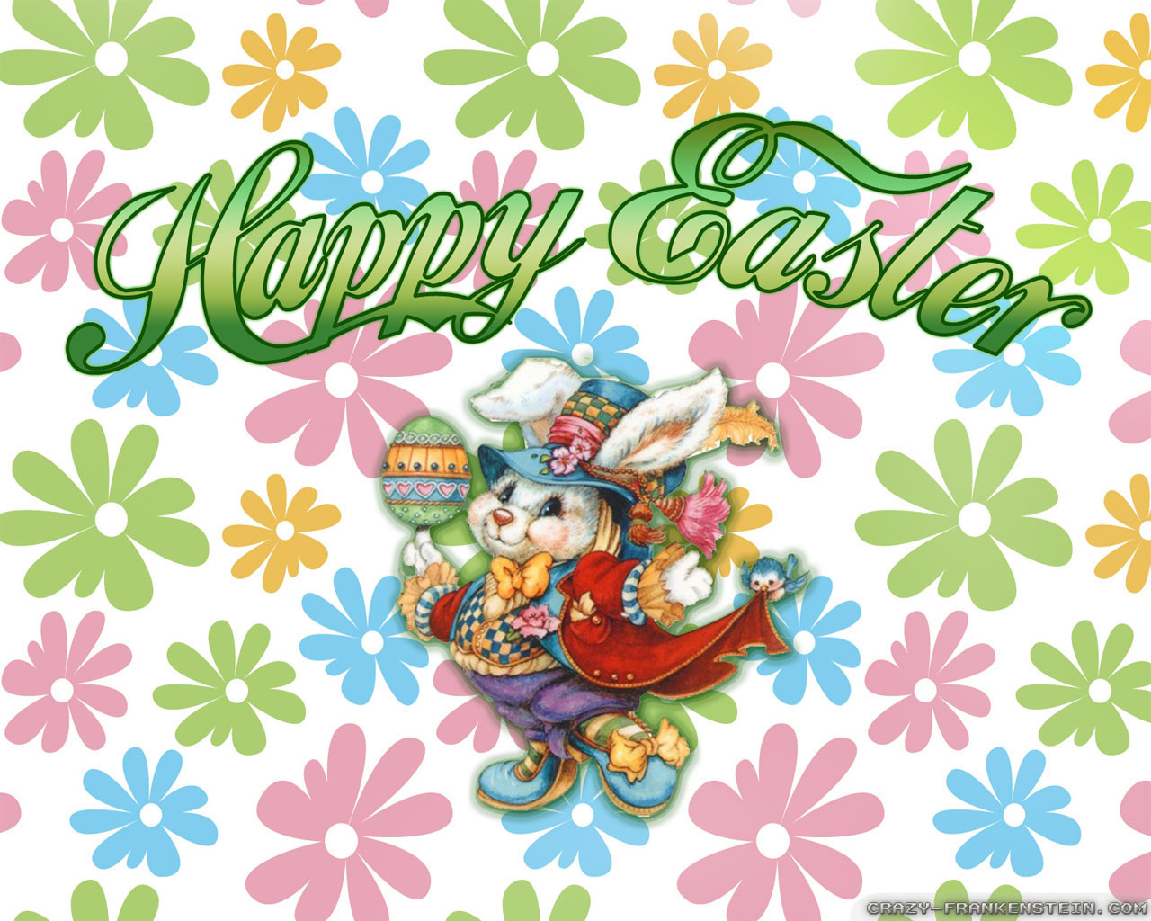 Funny Wallpaper Desktop Easter Bunny Clip Art Pictures 1280x1024