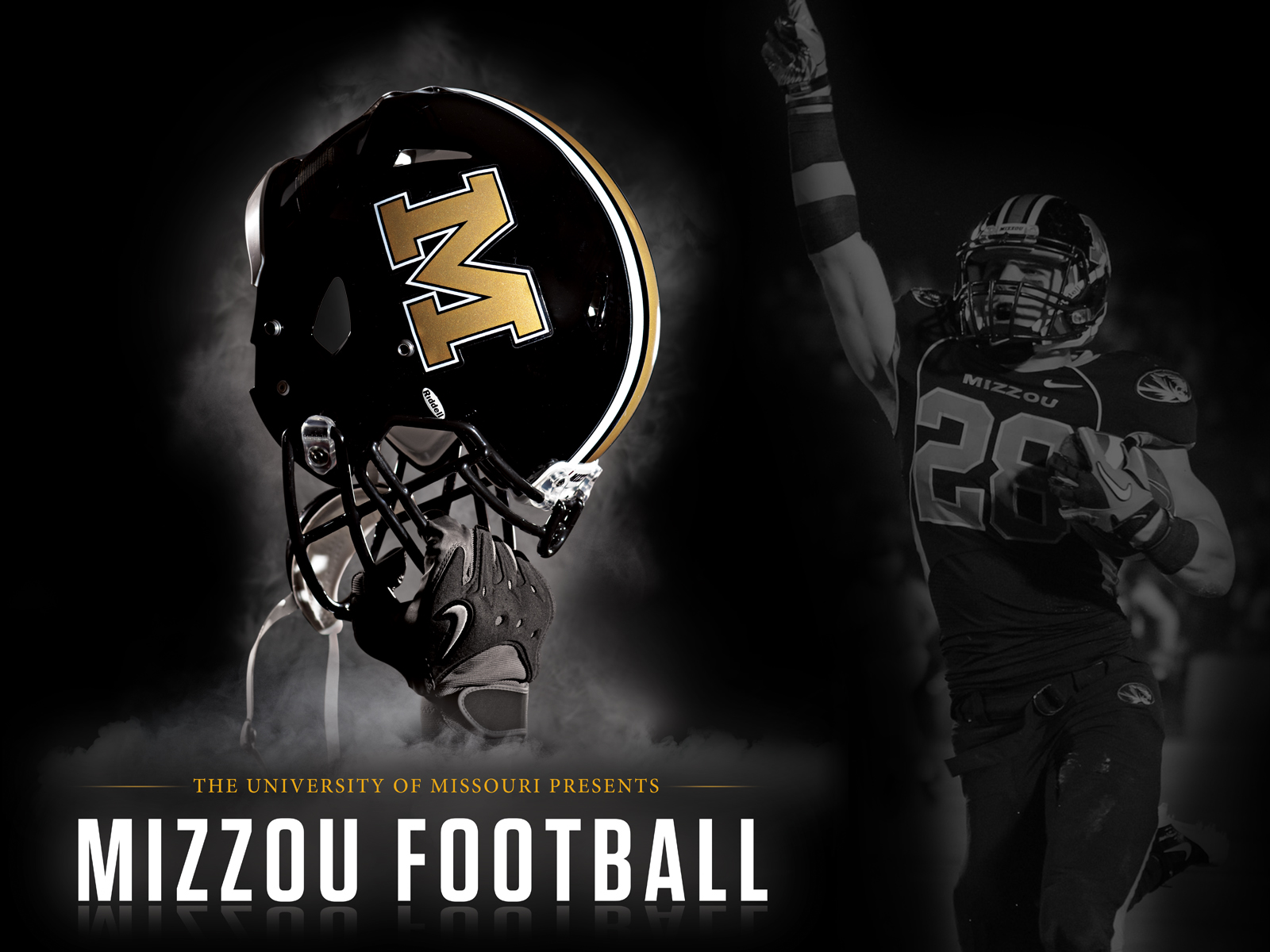 Mizzou Football 2011 Poster Wallpaper 1600x1200px 1600x1200