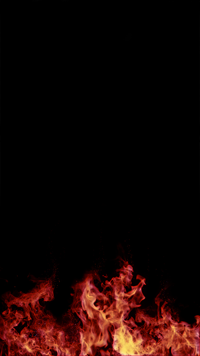 Free Download Night Fire Iphone Wallpaper 640x1136 For
