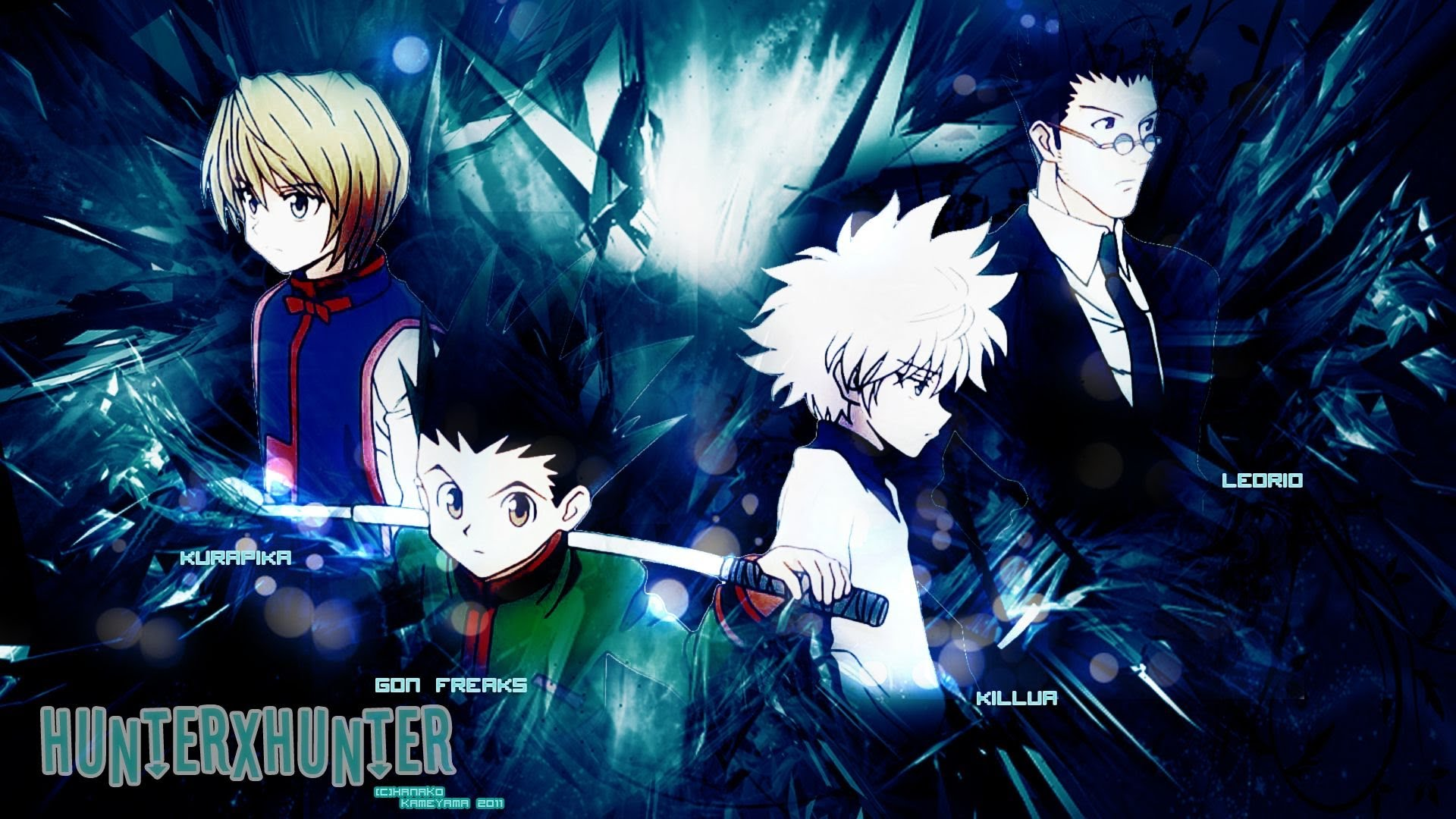 50 Hunter X Hunter Wallpapers On Wallpapersafari