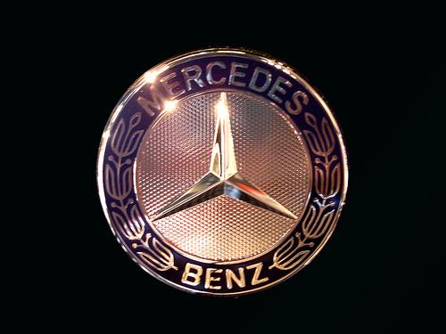Yellow Color Wallpaper Mercedes logo hd png jpg symbol 500x375