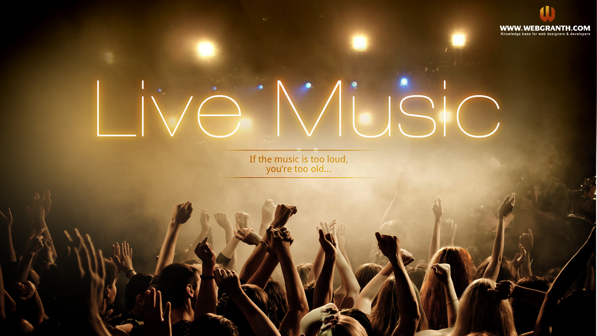 Live hd wallpaper 1920x1080 wallpapersafari - Music hd wallpapers free download ...
