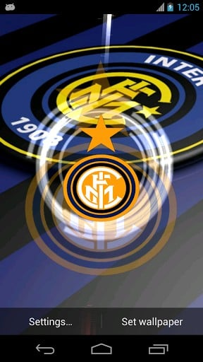 Inter milan wallpaper android wallpapersafari view bigger inter milan fb club wallpaper for android screenshot voltagebd Image collections