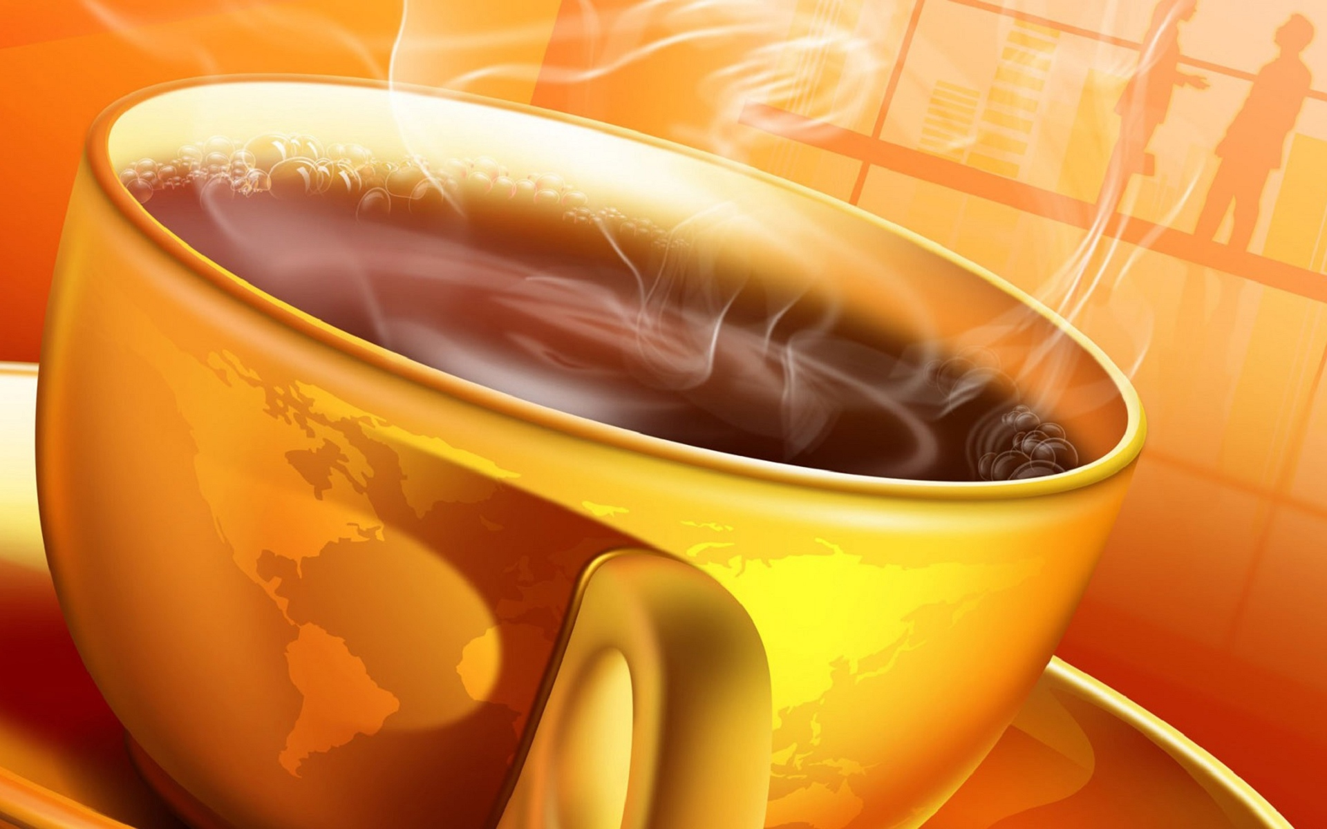 Warm Coffee Wallpapers HD Wallpapers 1920x1200