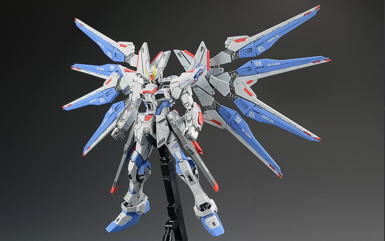 VP Strike Freedom Gundam Verdaniel Photoreview No17 Wallpaper 1280x800