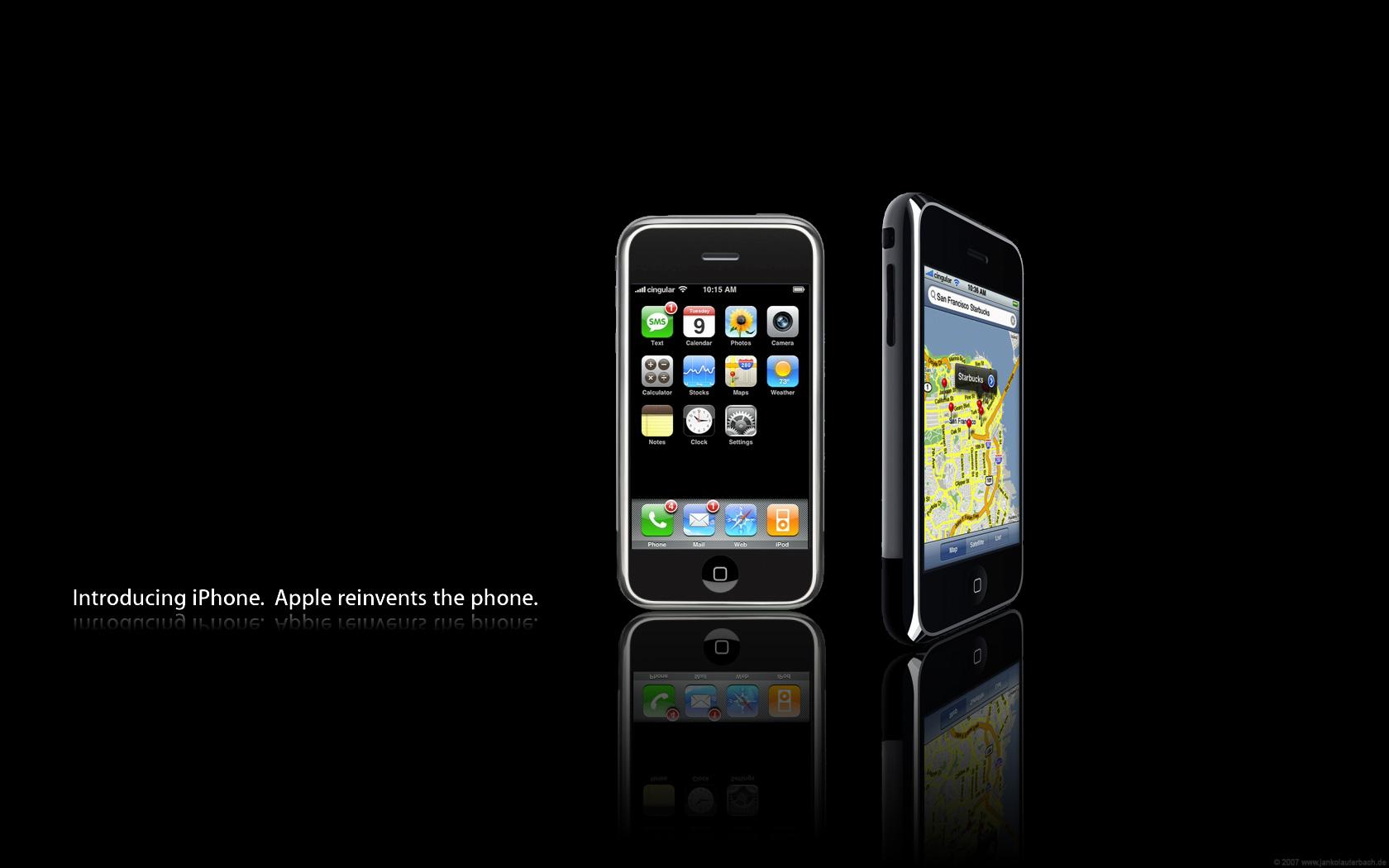 iphone reinvents the phone hd wallpaper 4080jpg 1680x1050