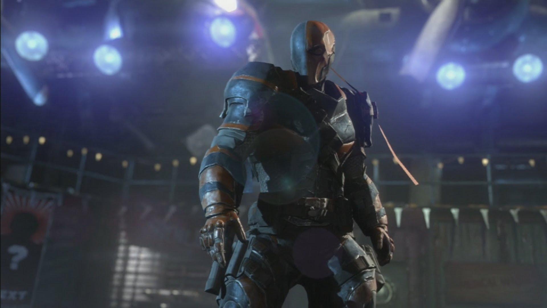 Batman Arkham Origins Deathstroke Boss Fight [HD] 1920x1080