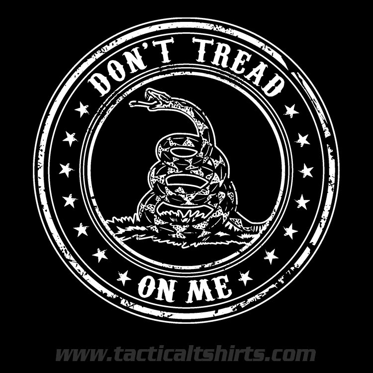 dont tread on me clipart step by step current - 630×630