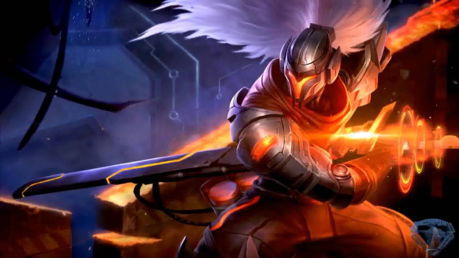 Project Yasuo animated by DeepSpeeD187 Live Wallpaper Dreamscene 1920x1080