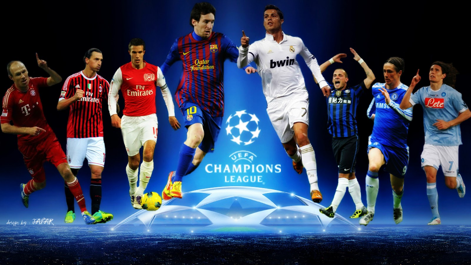 Champions League wallpaper HD 1280x800 1600x900
