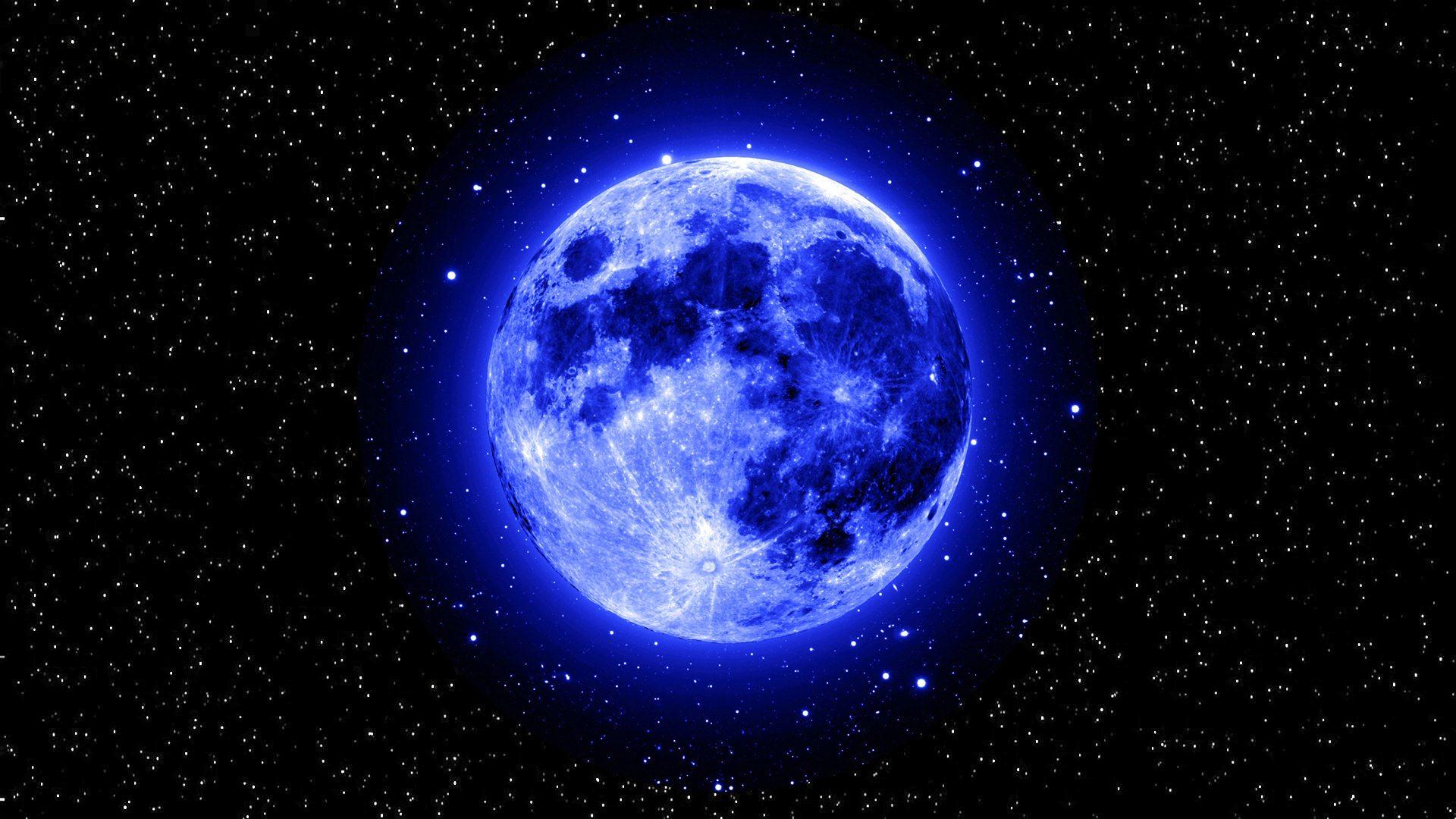 Moon Stars Wallpaper