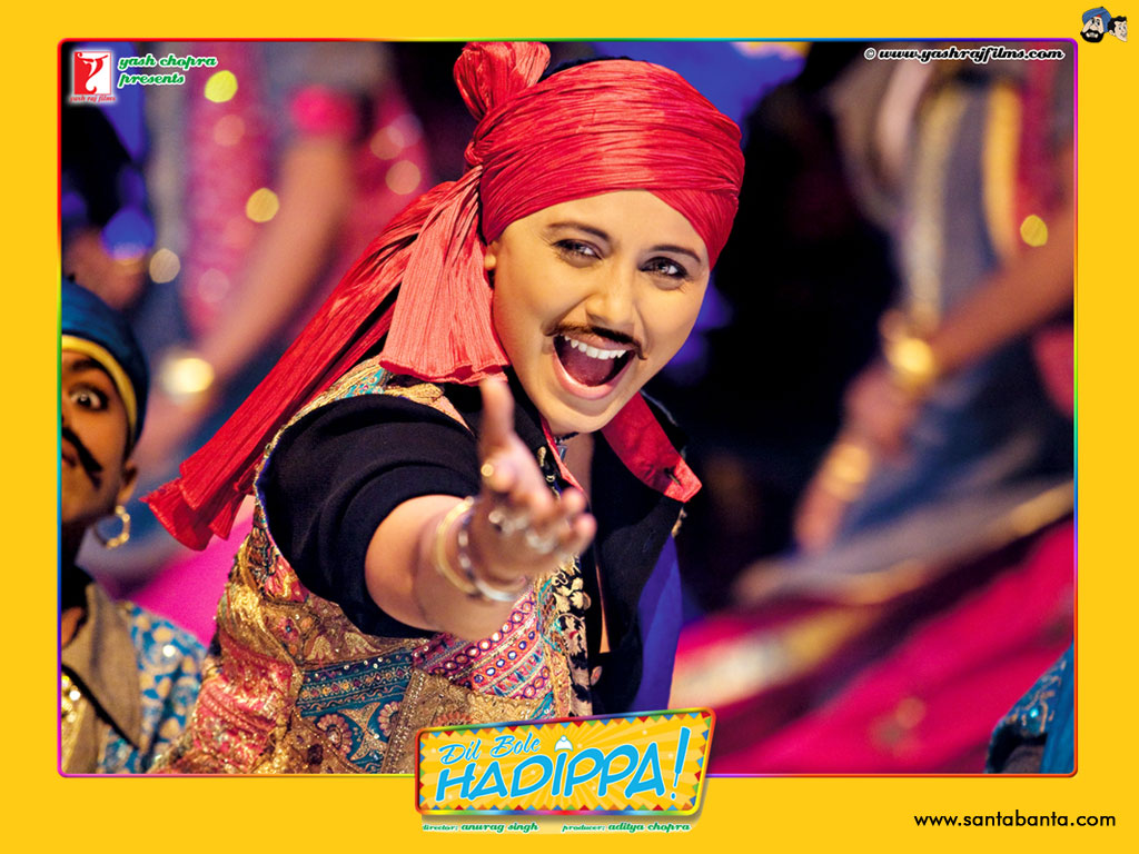 Dil Bole Hadippa Movie Wallpaper 13 1024x768