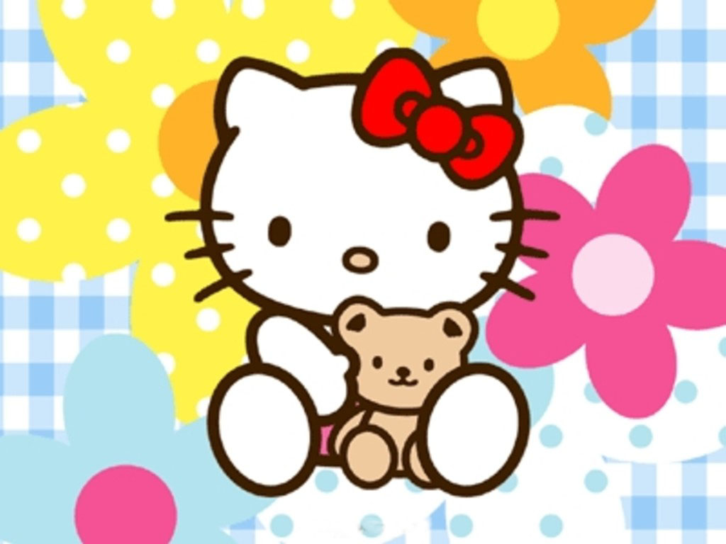 Hello kitty desktop wallpaper   Cartoons gallery 1024x768