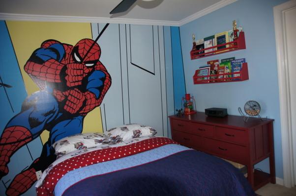 46 Spiderman Wallpaper For Kids Room On Wallpapersafari
