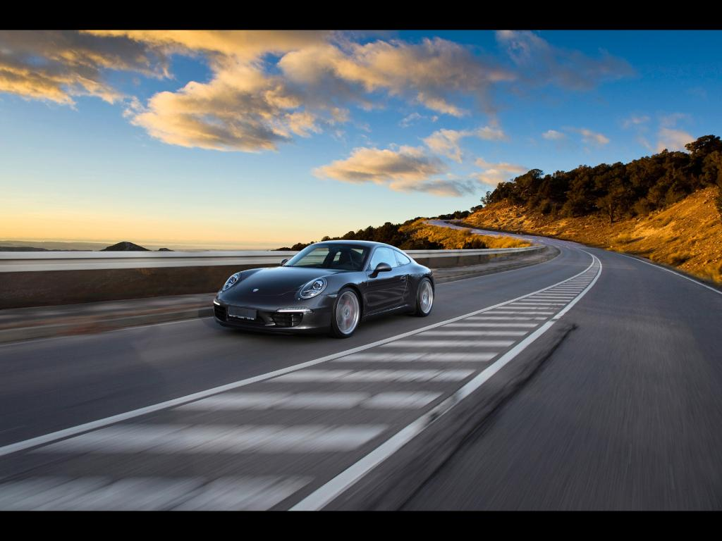 TechArt Porsche 911 Individualization 2012 Wallpaper 1024x768