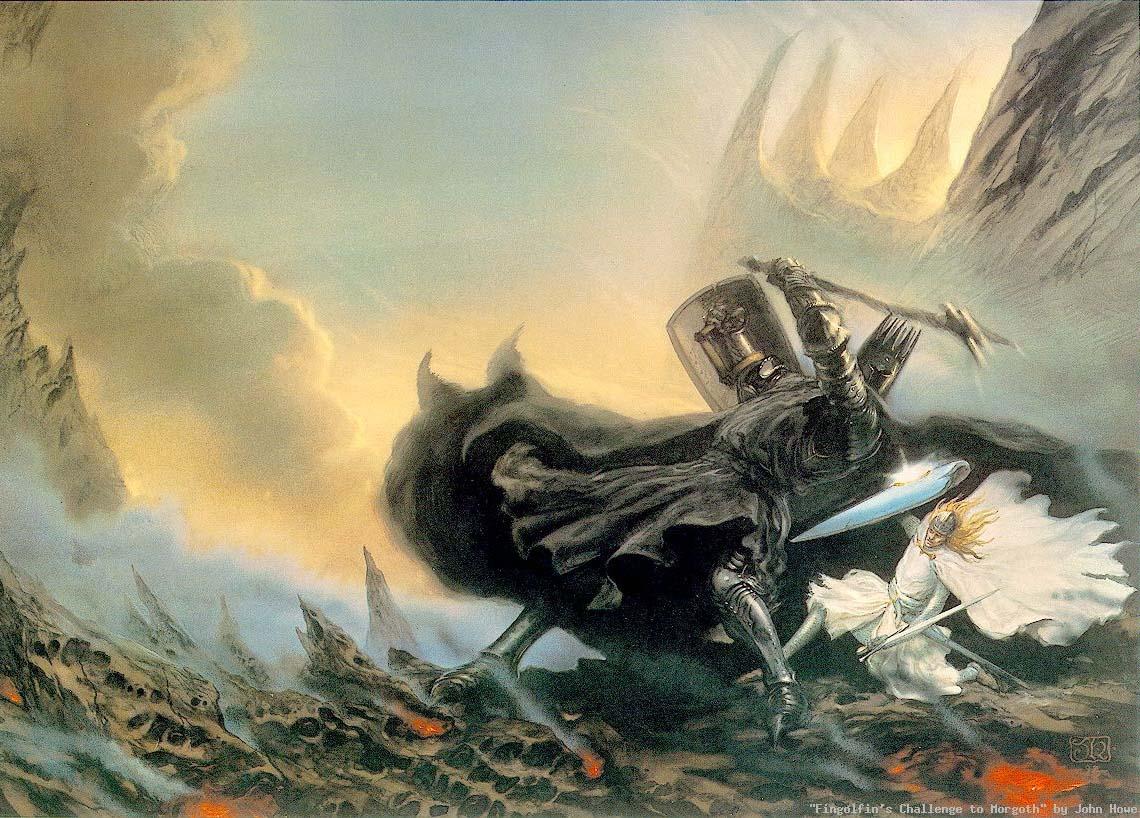 JRR Tolkien Wallpapers Paintings Art Wallpaper 1140x818
