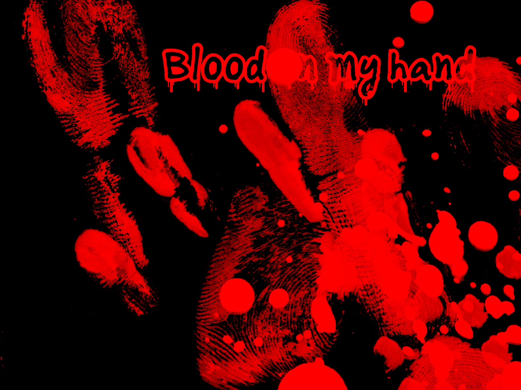 Blood Hand Wallpaper Blood Hand Desktop Background   Do It 1024x768