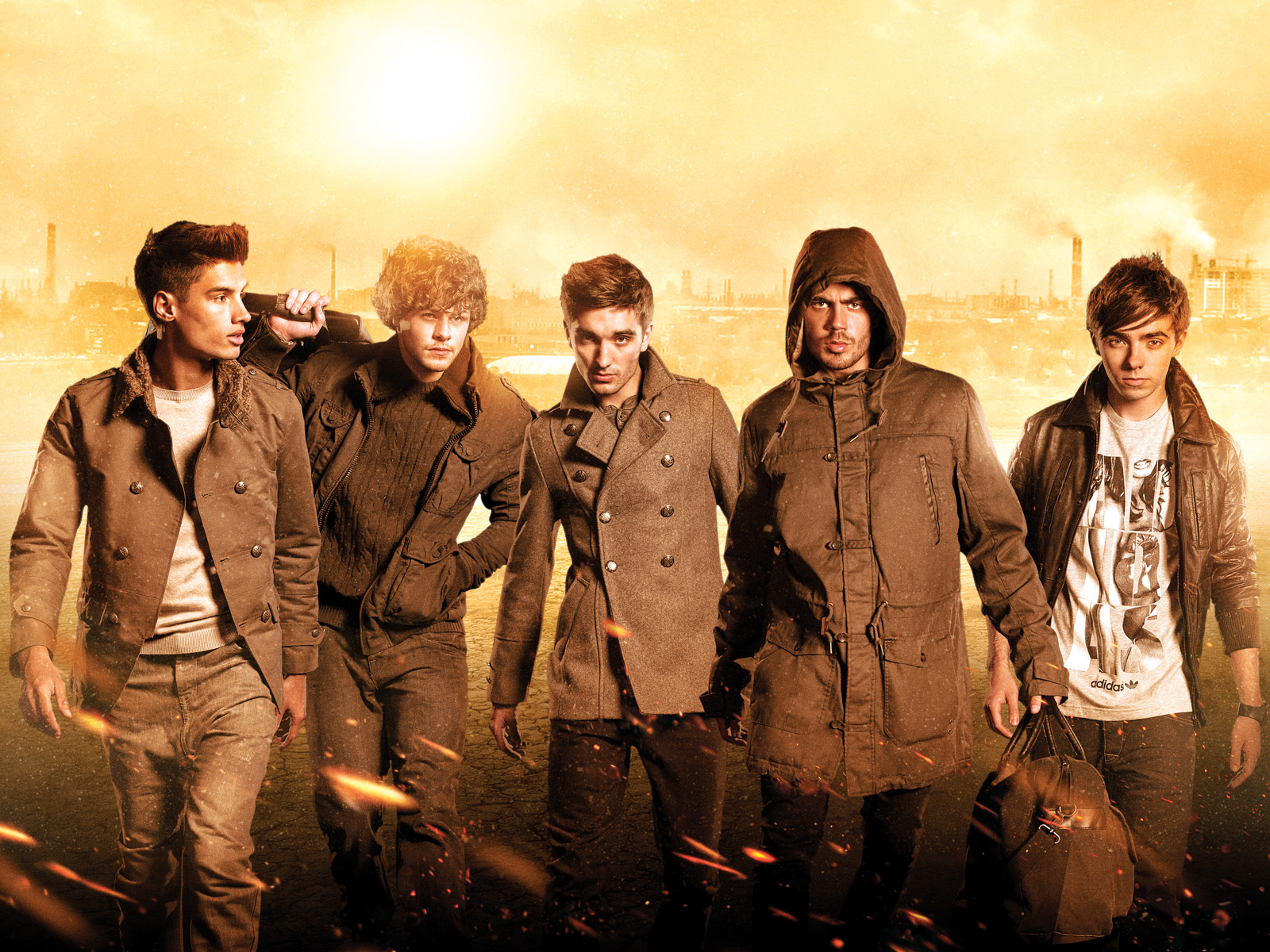 The Wanted   The Wanted Wallpaper 31505974 1600x1200
