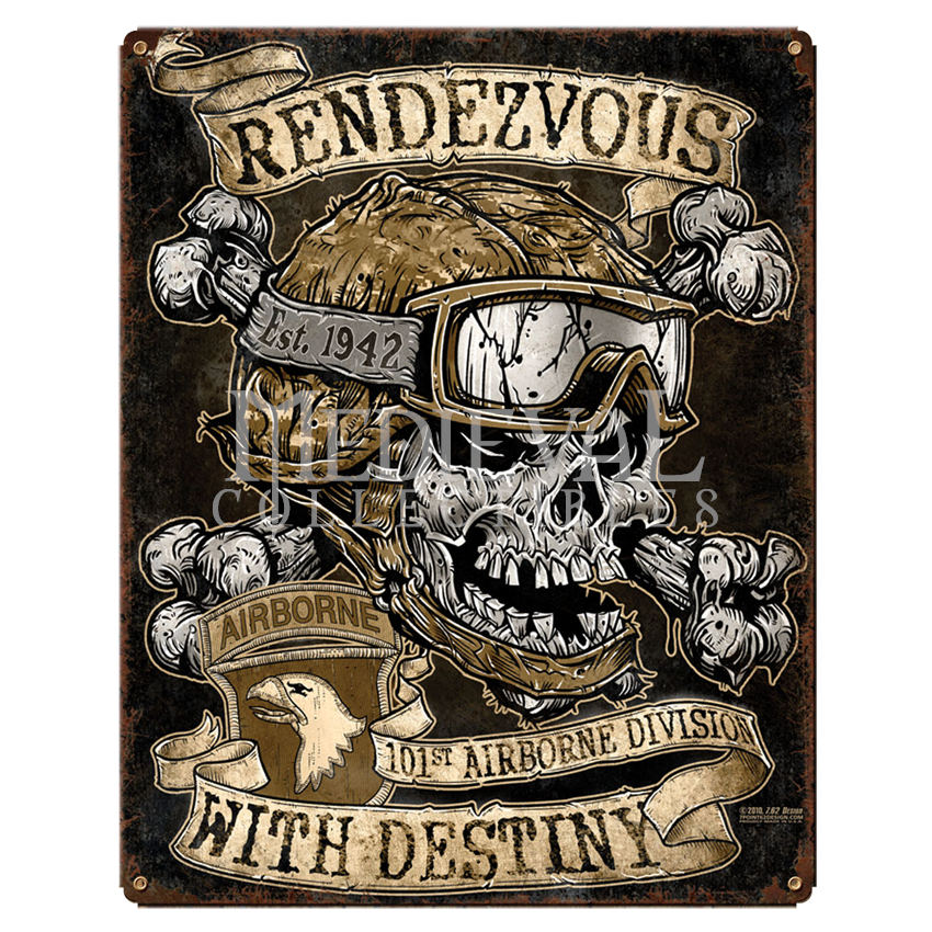 Army 101st Airborne Rendezvous With Destiny Sign   762 503 407 by 850x850