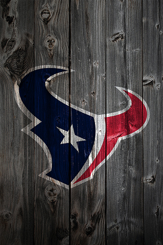 Houston Texans Wood iPhone 4 Background 333x500