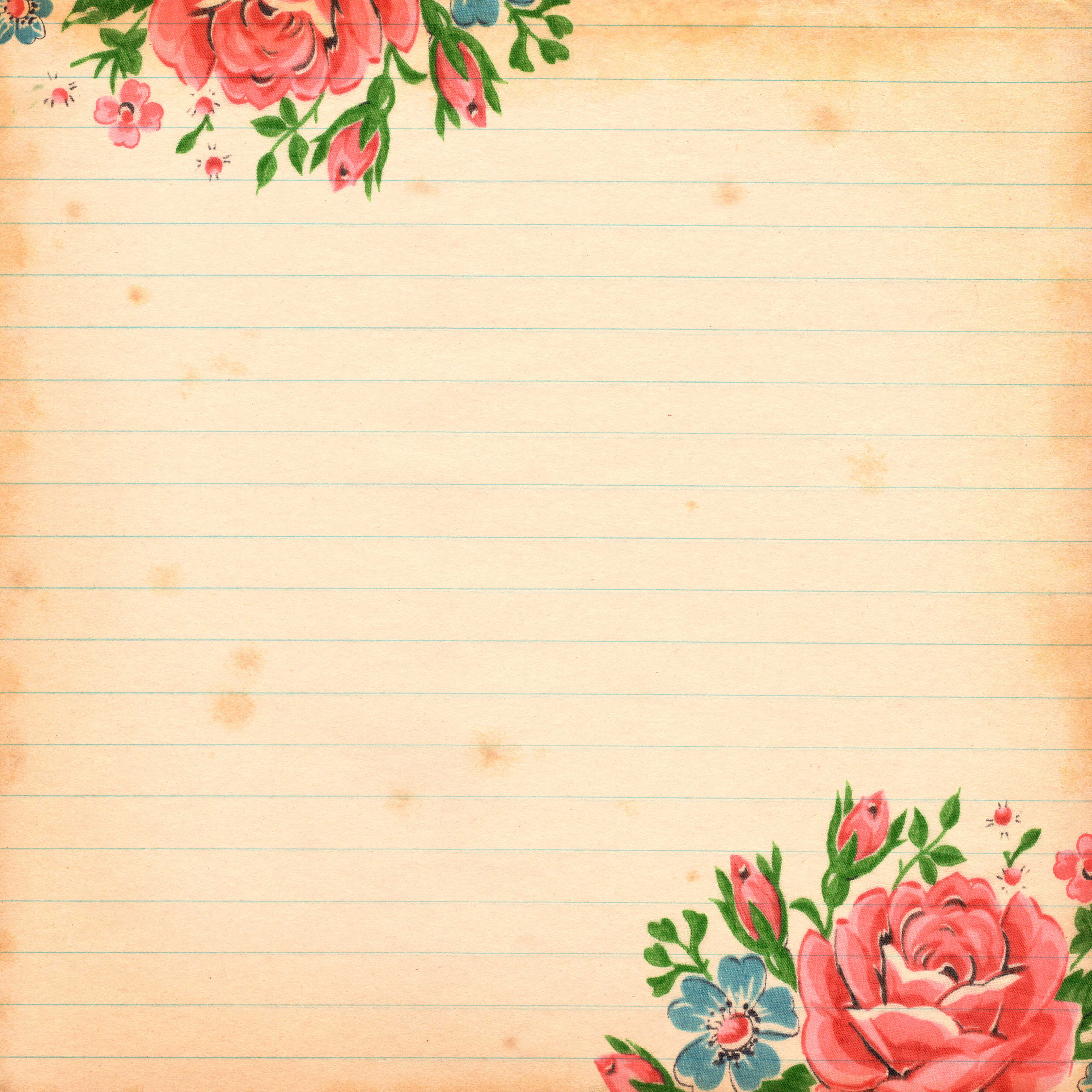 Digital Scrapbook Paper Commercial Use OK   Pretty Things 3600x3600