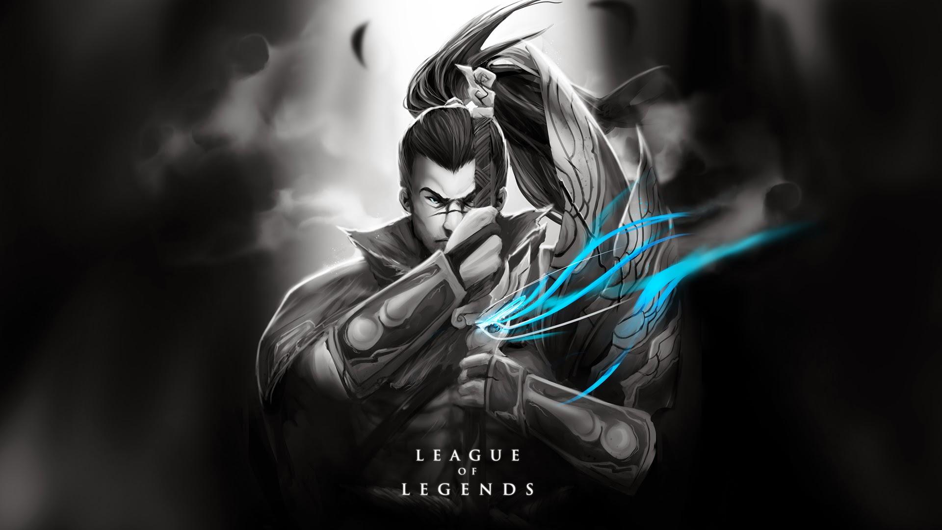 yasuo league of legends hd wallpaper lol champion 1920x1080 7j 1920x1080