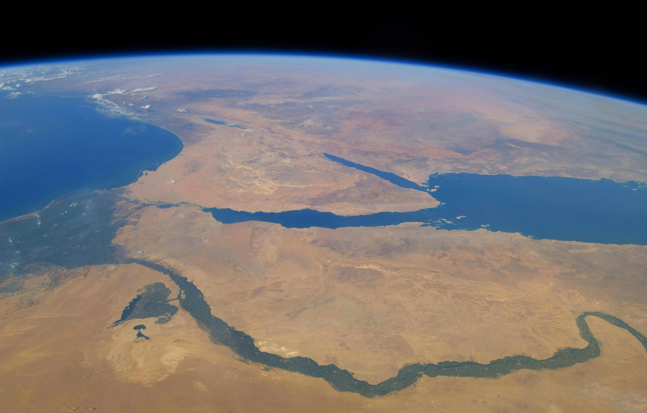 Wallpaper river Earth Africa The red sea The Sinai Peninsula 1332x850