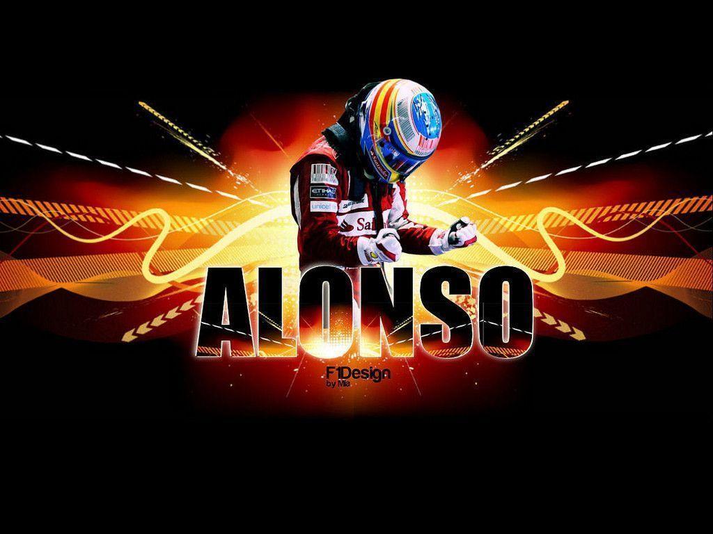 Fernando Alonso Wallpapers 1024x768