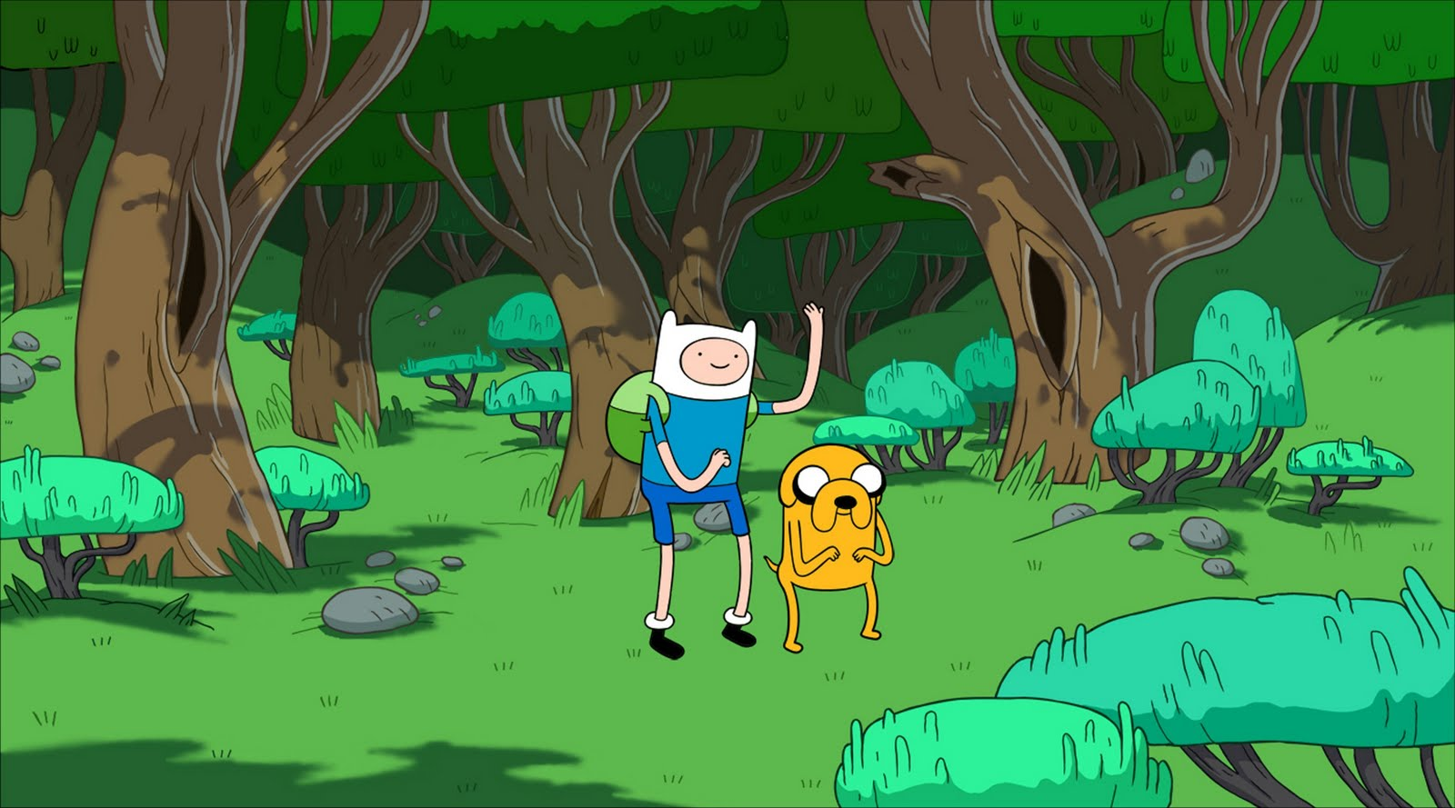 Adventure Time with Finn and Jake HD Wallpapers Download 1600x889