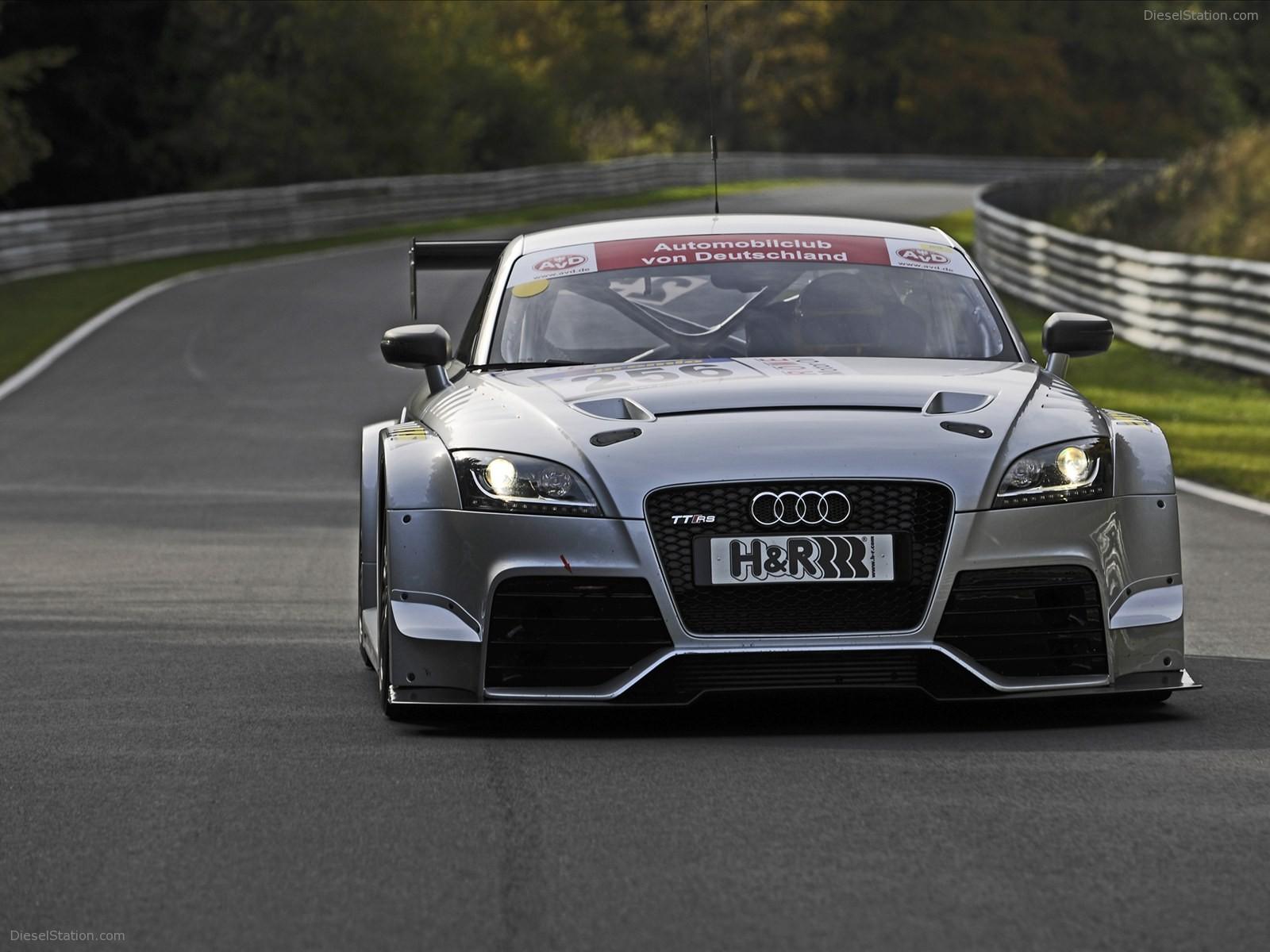 Home Audi Audi TT RS 2012   Racing Car Version 1600x1200