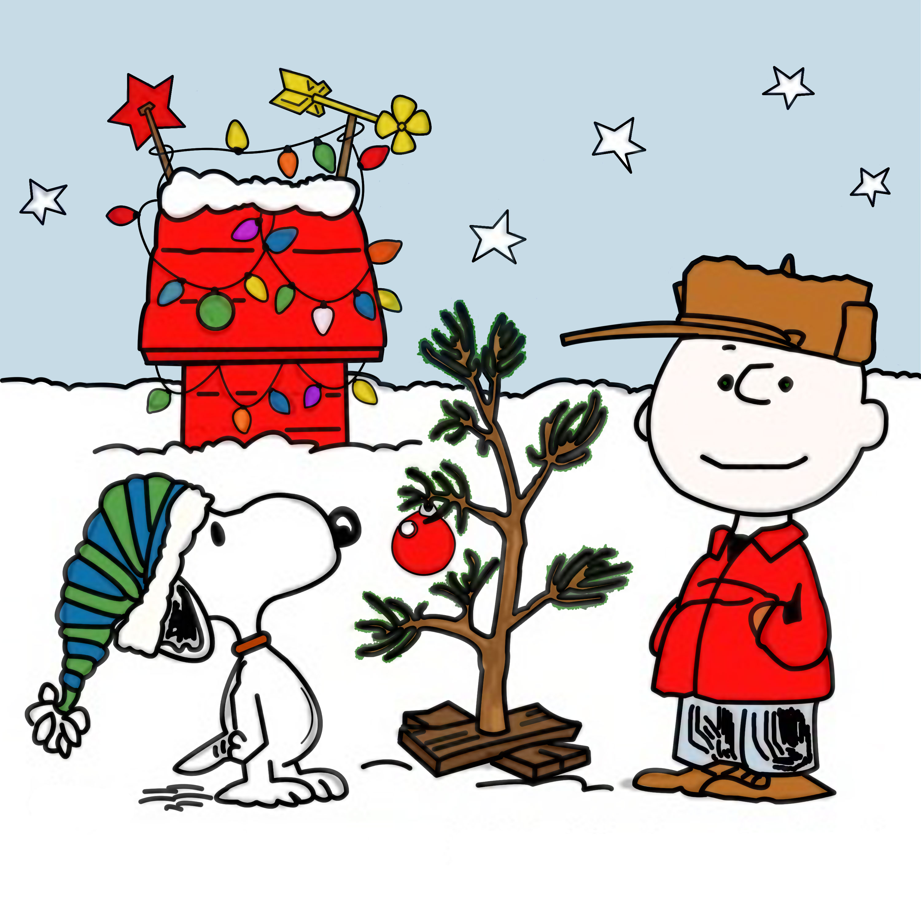 Charlie Brown Christmas 1965 3000x3000