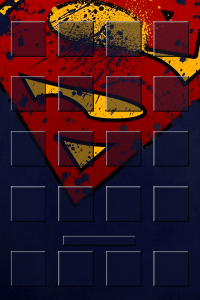 Superman Shelf Other Wallpaper For IPhone Download 640x960
