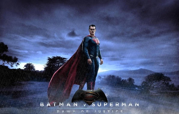 superman at the dawn of justice henry cavill superman wallpapers 596x380