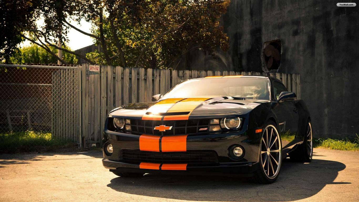 Camaro Wallpaper   wallpaperwallpapersfree wallpaperphotodesktop 1366x768