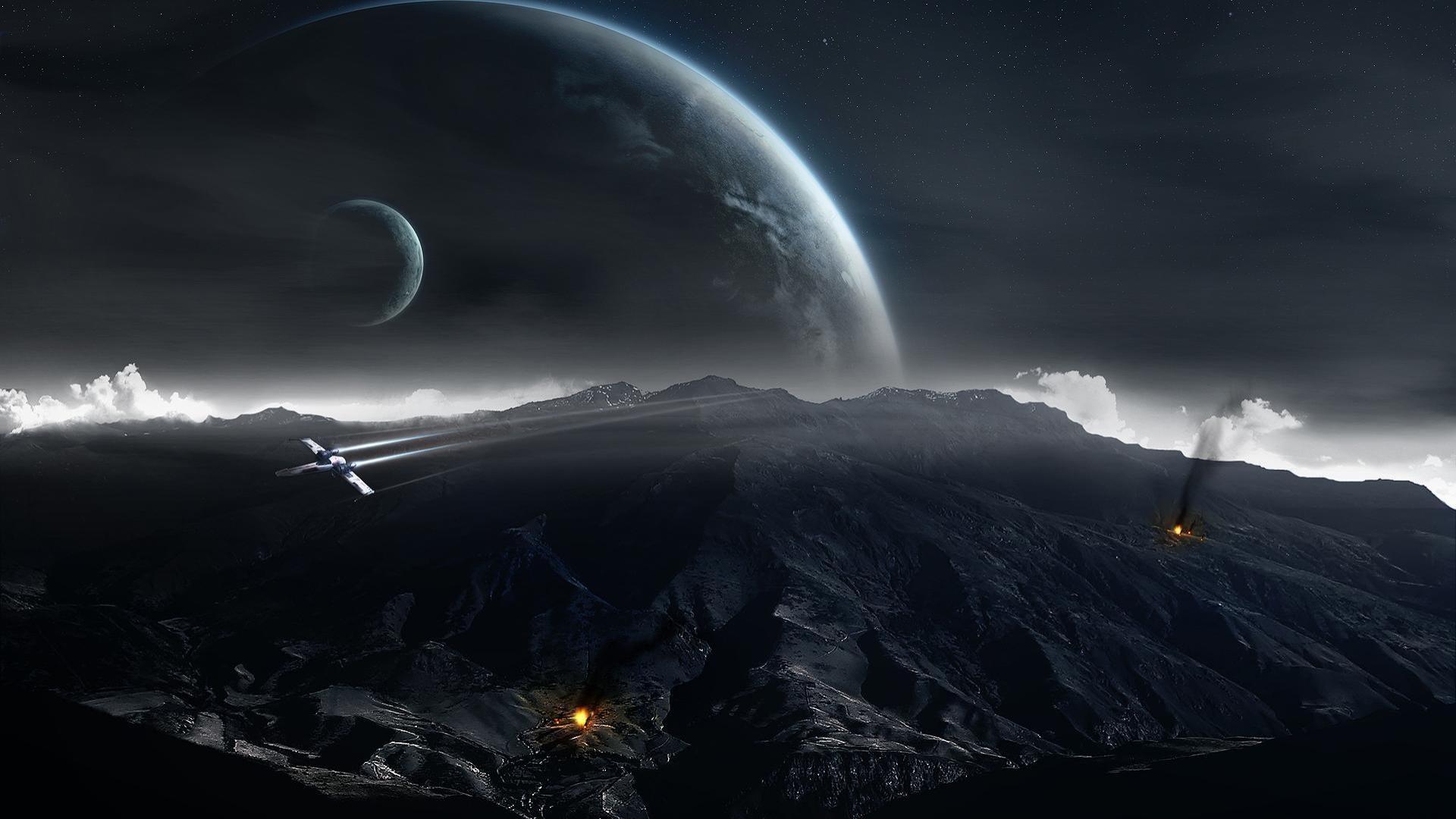 Star Wars Wallpaper 1920x1080 Star Wars Planets Science Fiction 1920x1080