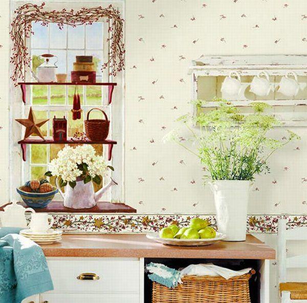DREAM WALLPAPER Kitchen Wallpaper 600x593