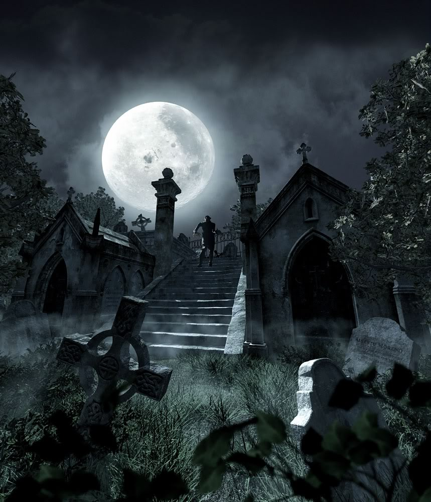 download Creepy Graveyard Backgrounds [859x1000] for your 859x1000