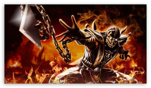 scorpion mortal kombat HD wallpaper for HD 169 High Definition WQHD 510x300