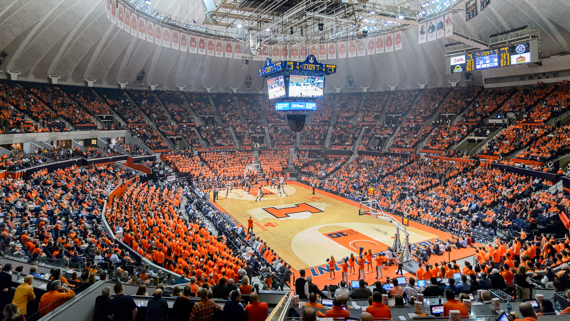 Illinois Premium Seating Fighting Illini Athletics 1920x1080