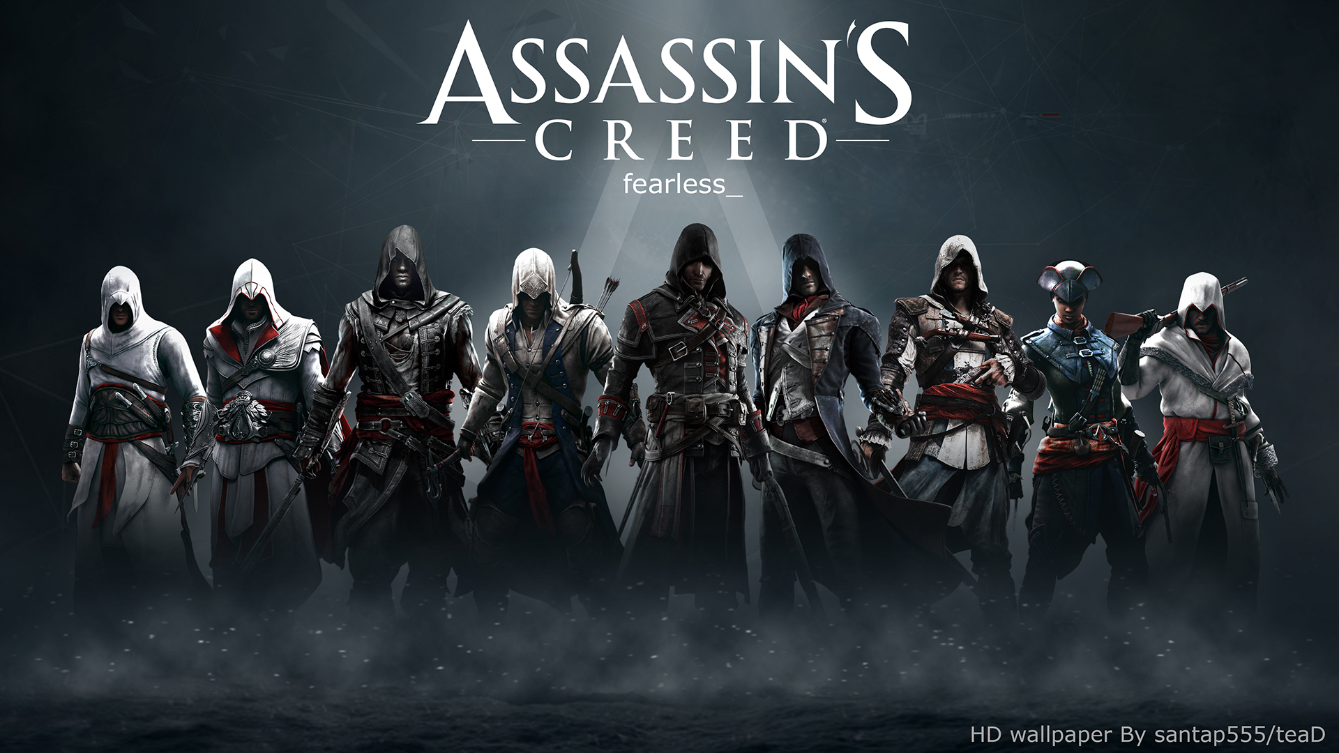 Assassins Creed HD wallpaper 2 by teaD by santap555 1920x1080