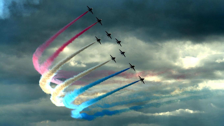 Art Funny Wallpapers Jokes Rainbow Air plane Instanter Wallpapers 1360x768